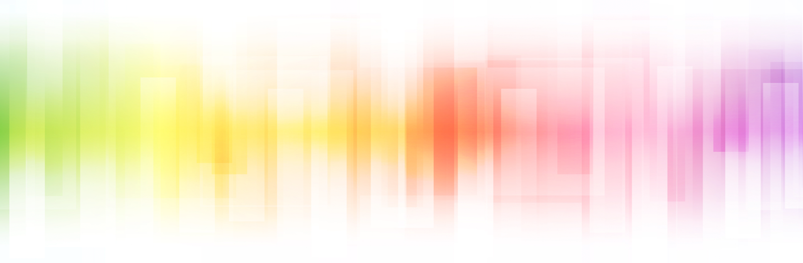 a horizontal and blurry visual of colors displayed in the background. starts with yellows and greens, progresses to red and finishes with blues and purples.