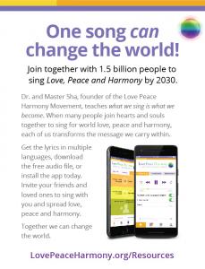 Resources - Love Peace Harmony
